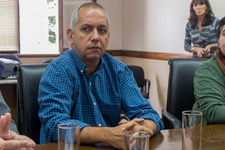 """""""Si algunos quieren presentar como un gran logro este acuerdo, me pongo de la vereda de enfrente"""", aseguró Villegas"""