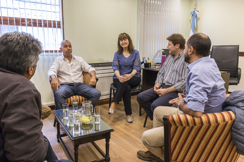 Urquiza y Villegas recibieron al Intendente Melella para analizar la realidad provincial