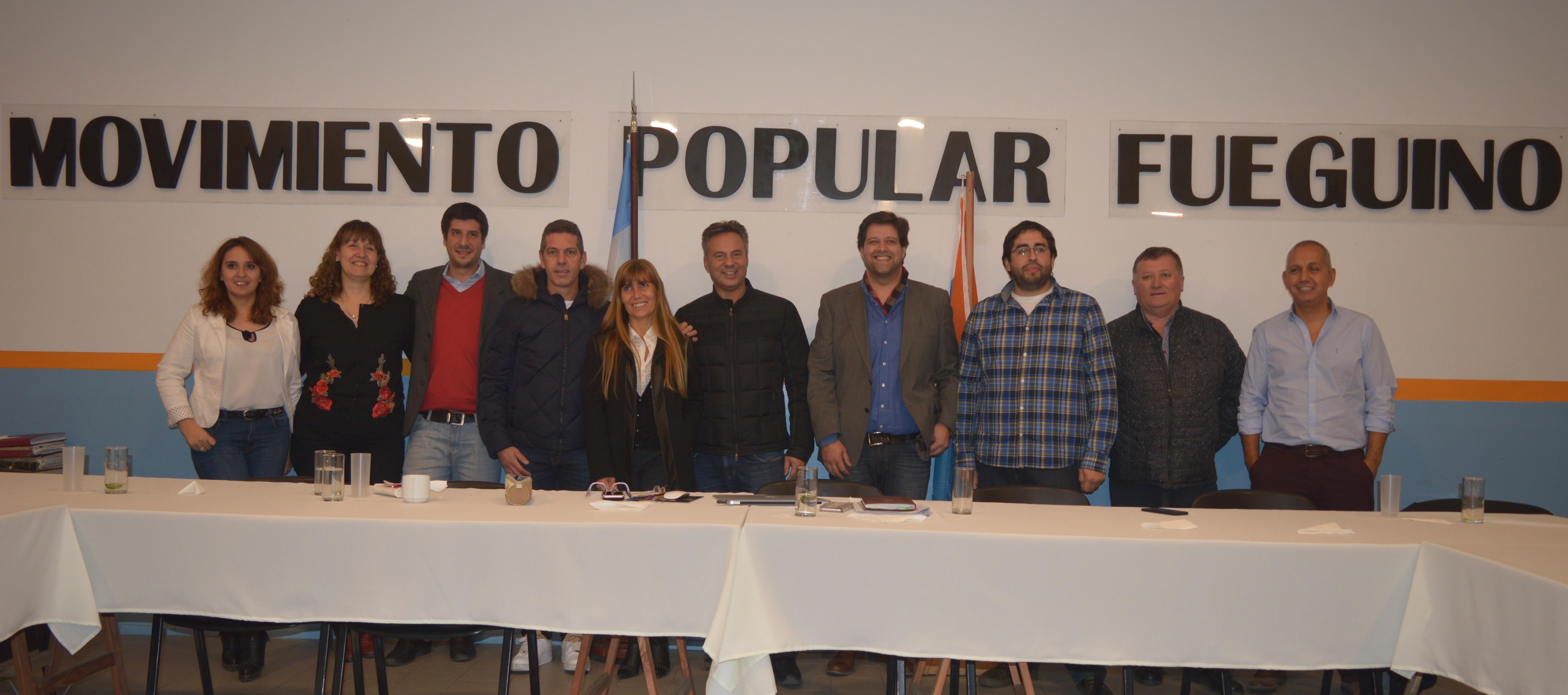Primera Reunión de Convención del Movimiento Popular Fueguino
