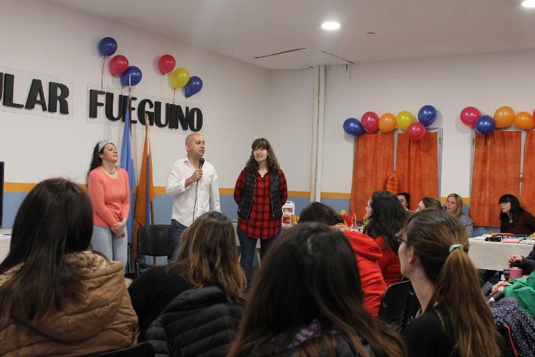El Movimiento Popular Fueguino realizó una exitosa Jornada para celebrar la Semana Mundial de la Lactancia Materna