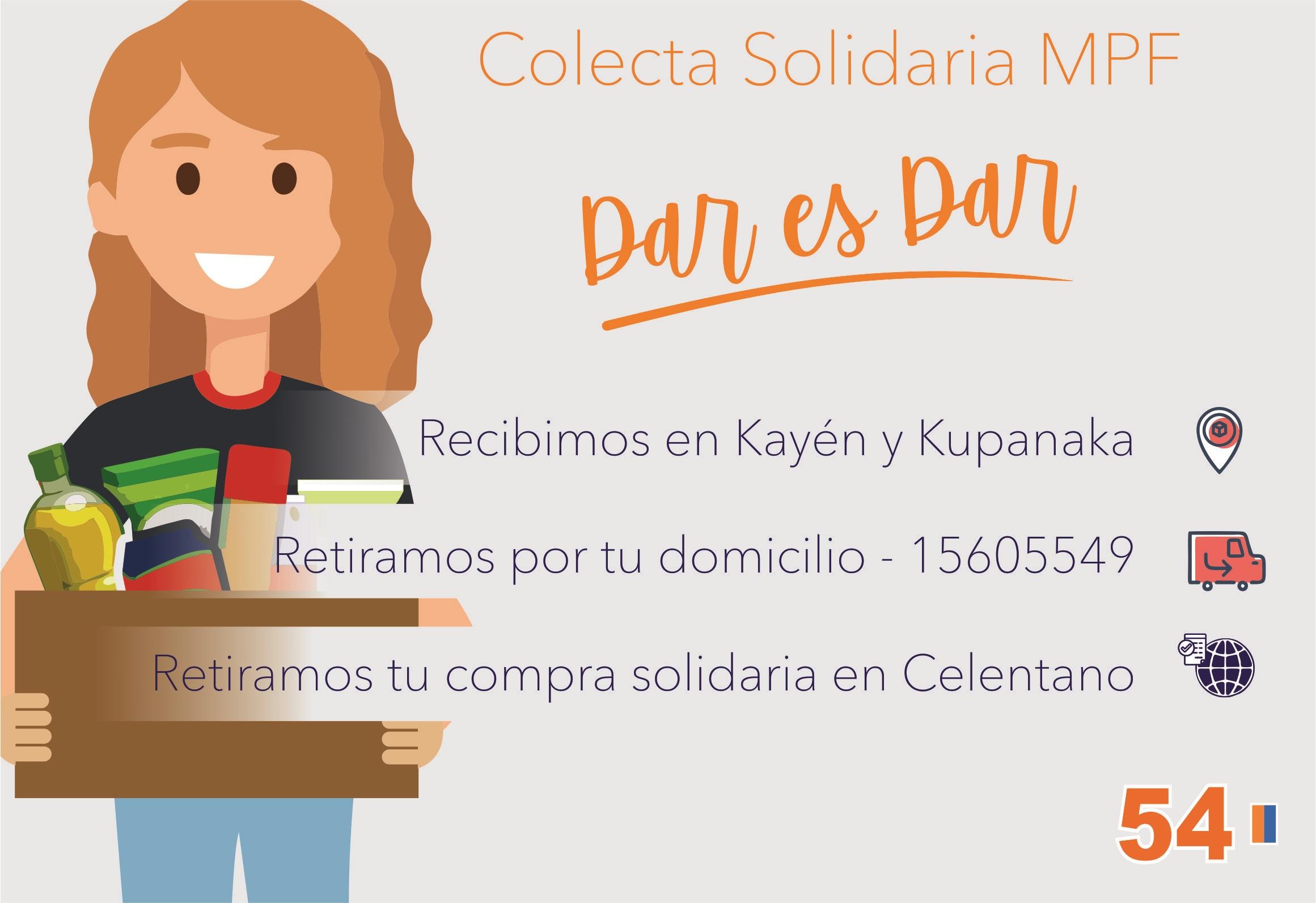 Colecta Solidaria MPF