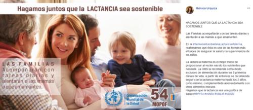 Lactancia materna campaña 3