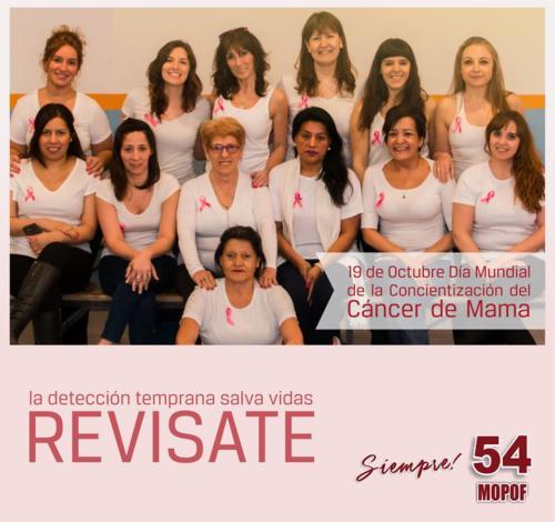 campaña cancer de mama